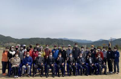 제1회 양구군협회장기 파크골프대회